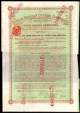 ANGLO-RUSSA cotone fabbriche Ltd, 1st OBBLIGAZIONE, £ 100, 1897