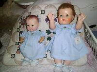 """NO DOLL SALE BEAUTIFULLY MADE FOR  15"""" TINY T. TEARS 1  CHRISTMAS  SMOCKED DRESS"""
