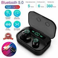 Bluetooth 5.0 Headset TWS Wireless Earphones Mini Earbuds Stereo Headphones 2019