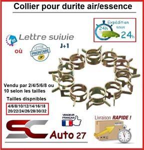 Collier de serrage pour durite air/essence/eau diamètre 14 mm vendu par 5 unité
