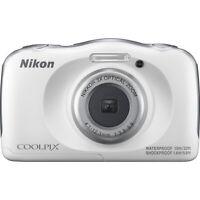 Nikon COOLPIX W100 13.2MP 1080P Digital Camera w/ 3x Zoom Lens, WiFi,SnapBridge