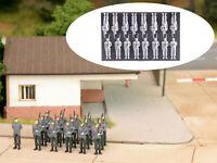 MU N-W00002 - Figuren Soldaten Bundeswehr Appell 16x - Spur N - NEU