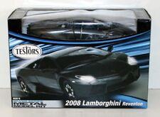 650016 Testors noir Lamborghini Reventon 2008 1:24 métalliques métal modèle kit box