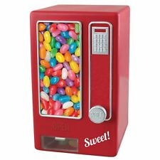 Children's Retro Mini máquina expendedora de dulces Jelly Bean Candy Dispenser – Rojo