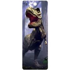 Tyrannosaurus Rex dinosaur 3D bookmark 15cm x 5.75cm with tassel
