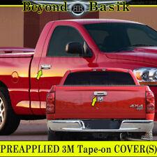 2002-2008 Dodge RAM 1500 03-09 2500/3500 Chrome Door Handle Covers W/PK+Tailgate