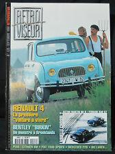 Rétroviseur n°133, 1999, Renault 4, 154 pages, excellent état