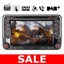 "2 DIN 7"" Car GPS Navi Dash Radio Stereo DVD For VW Passat Golf MK5 MK6 DAB+ 3G"