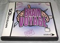 Brain Voyage Nintendo DS 2DS 3DS  *Complete*