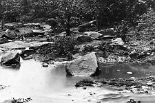 New 5x7 Civil War Photo: Rock Creek Below Culp's Hill, Battle of Gettysburg