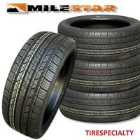 4 New 205/55R16 Milestar MS932 Sport Tires 91V SL 2055516  205 55 16