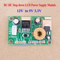 DC-DC Buck Converter 12V to 5V 3.3V Step down LED Driver Power Module LOW ESR