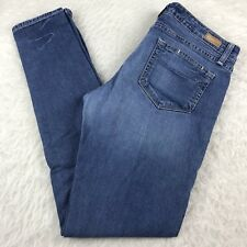 Paige Premium Denim Skyline Skinny Jeans Women's Size 29 Medium Wash 32x30.5