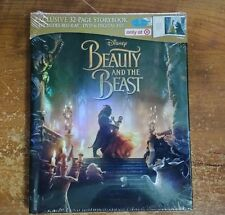 Beauty And The Beast (Blu-Ray + DVD + Digital HD, 2017) Target Exclusive
