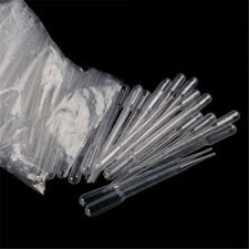 1 Bag 100PCS 3ML Disposable Plastic Eye Dropper Set Transfer Graduated Pipettes