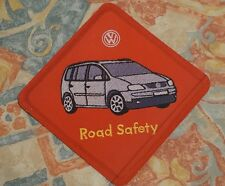 Volkswagen VW Launch Touran Leaflet that looks like a scout type badge