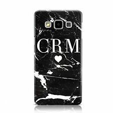 PERSONALISED MARBLE HEART INITIALS MOBILE PHONE CASE FOR SAMSUNG GALAXY J3 2016