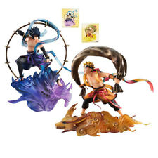 NARUTO SHIPPUDEN - Sasuke Uchiha & Naruto Uzumaki 1/8 Pvc Figure Megahouse