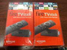 Two Amazon Fire TV Stick w/Alexa Voice Remote 2nd Gen 2x Bundle Sale Price