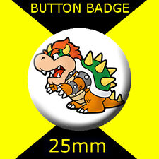 MARIO BOWSER - CULT TV  2 -  Button Badge 25mm