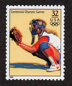 UNITED STATES, SCOTT # 3068-O, SPORTS - WOMEN'S SOFTBALL, OLYMPIC GAMES, MNH