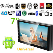 Car 2 Din Touch Screen Android 8.1 Quad-Core Stereo Radio GPS Wifi Navi Radio