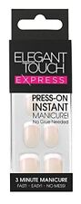 Elegant Touch Express French Ongles Pré-encollée Bare