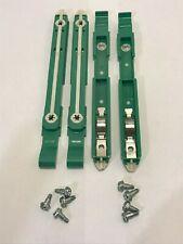 4 Lot Dell Hard Drive Rails (Green) w/ Mounting Screws 87Vyr 2 Pair