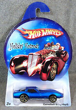 HOT WHEELS ~ HOLIDAY HOTRODS ~1980 CORVETTE STING RAY ~ BLUE