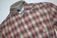 13013-a Mens Denim & Supply Ralph Lauren Western Shirt Size Medium