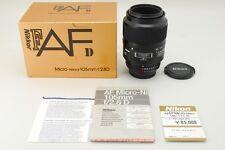 【Mint in BOX】 Nikon AF Micro NIKKOR 105mm f/2.8 D Lens from Japan 0158N