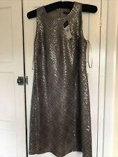 NEW WITH TAG LAUREN RALPH Lauren Sequin Evening DRESS Uk Size 10