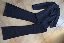 EXPRESS Black Pinstripe Classic Blazer & Correspondent Pant Suit 2