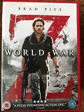 Brad Pitt Bryan Cranston WORLD WAR Z ~ 2013 Zombie Virus Outbreak Horror UK DVD