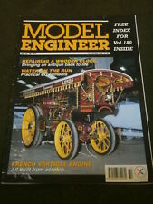 MODEL ENGINEER - FRENCH VERTICAL ENGINE - JULY 17 1998 VOL 181 # 4072