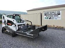 """CID Xtreme 72"""" Brush Hog Cutter Mower For Bobcat Skid Steer Loader Attachment !!"""