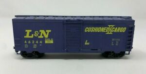 LIFE LIKE HO SCALE LOUISVILLE & NASHVILLE L&N BOXCAR 46244 VERY GOOD CONDITION