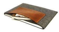 "iPad Pro 11"" felt and leather pocket sleeve case, UK MADE, PERFECT FIT!"