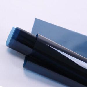 Transparent Decorative Window Film Color Solar Tint Stained Glass Decor Vinyl