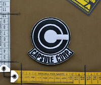 "Ricamata / Embroidered Patch ""Capsule Corporation"" with VELCRO® brand hook"