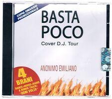 ANONIMO EMILIANO COVER D.J. TOUR BASTA POCO (VASCO ROSSI) CD PROMO  SIGILLATO!!!