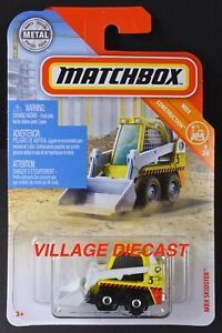 2019 Matchbox #32 (Bobcat®) MBX Skidster™ (S100) YELLOW / CARGO COURIERS / MOC
