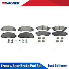 Front&Rear Wagner Semi-metal Disc Brake Pads Set For FORD F-250 SUPER DUTY 08-10