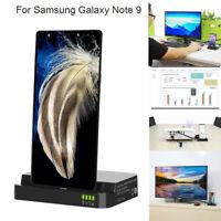 HDMI Dex Station Desktop Extension-Ladestation für Samsung Galaxy Note 9 / S8