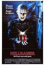 Hellraiser - Doug Bradley - Clive Barker - A4 Laminated Mini Movie Poster