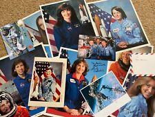 More details for female space astronauts signed photos autographs x18