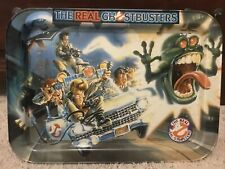 The Real Ghostbusters 1986 Vintage Columbia Pictures Metal Tv Lap Tray