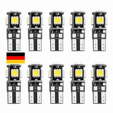 10x LED T10 CANBUS 20 SMD COB Lampe Glassockel Weiß Innenraum Deutsche Post