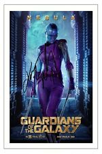 KAREN GILLAN GUARDIANS OF THE GALAXY SIGNED AUTOGRAPH PHOTO PRINT NEBULA