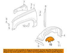 GM OEM Front Fender-Liner Inner Splash Shield Panel Cover 15569497